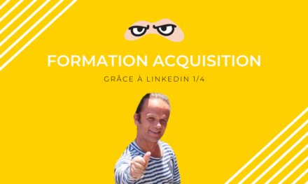 Formation acquisition LK avec lead magnet (1/4)